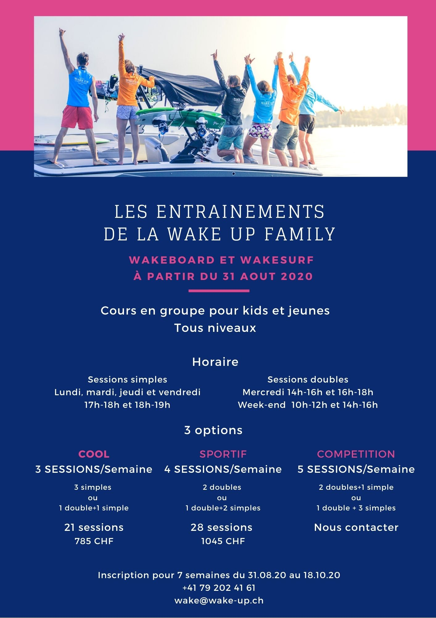WakeUpFamilyEntrainements